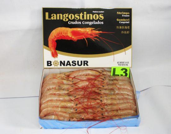 Langostino entero L3 (31/40 ppk)